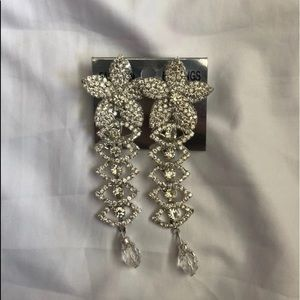 New Flower Diamond Earrings